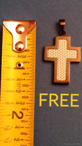 FREE METAL CROSS