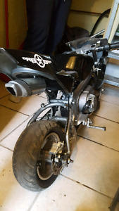 Pocket bike 50cc negotiable/trade