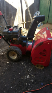 Mastercraft 10hp snowblower for sale. $150 firm