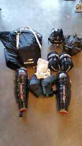 Adult hockey gear
