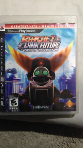 PS3 game.  Ratchet and Clank Future.  Tools of Destruction.