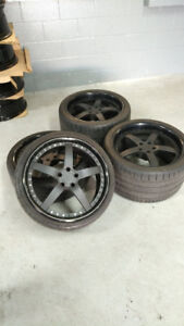 "AUDI R8 20"" STRASSE FORGED ""S5"" WHEELS - CHEAP!!"