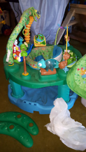 Evenflo ExerSaucer jungle theme