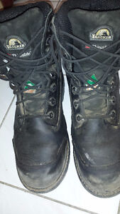 Work boots. Size 12