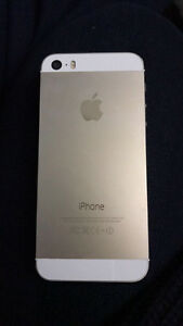 For Sale- 16GB gold iPhone 5s Telus mint w box- $225 OBO!