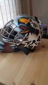 Ed belfour painted mask! Fully padded