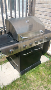 Natural gas BBQ stainless steel