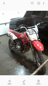 Honda Dirt Bike Crf 70