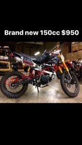 BRAND NEW DIRT BIKE 150CC