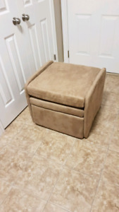 Recycling chair ottoman