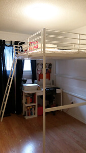 Loft bed with double mattress pick up only