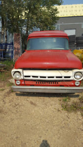 1957 Ford F-100  Panel Truck