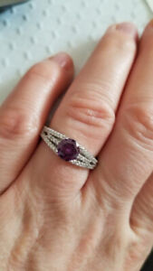 BNWT Charmed Aroma ring, size 10, Sterling silver ,