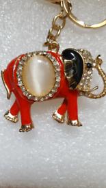 Keys ring holder with elephant..