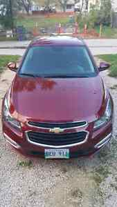 2015 Chevy Cruze LT 17000 obo, safetied, no accidents