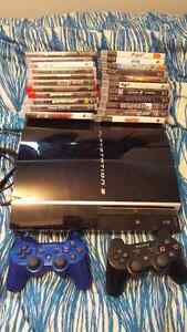 Playstation  3 console + 22 games!!!