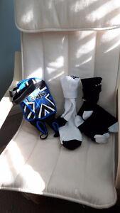 Brand new shin pads and socks