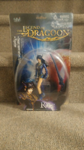 Legend of Dragoon (PS1) Rose Action Figure