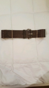 Banana Republic Wide Brown Belt