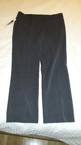 Hilary Radley Grey Dress Pants - Brand New