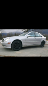 RARE 2001 Mercedes 6SPEED C-240