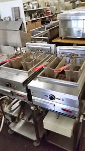 Commercial Deep Fryers, Great For Food Trucks, Kitchens
