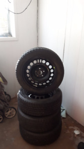 205/55r16 studded winter tires and rims