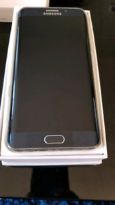 Unlocked Samsung Galaxy S6 Edge Plus with accessories