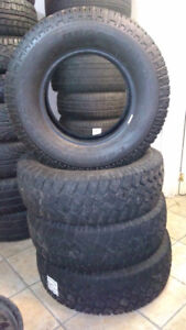 245/75/16**WINTER TIRES*BF GOODRICH COMMERCIAL** 9/32 TREAD
