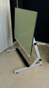 Drafting table with board cover - Great condition