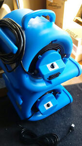 Air mover blower fan for floods & carpet cleaning