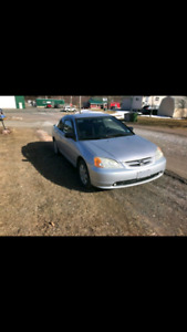 2003 civic coupe 5 speed from bc