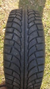 235 70 16 jeep liberty snow tires and rims