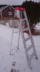 Werner Aluminum 6FT Step Ladder