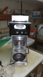 Used commercial BUNN Coffee machine and steam table try for sale