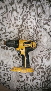 Dewalt 18v cordless drill 1-2 speed