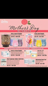 Scentsy! Mother's day bundles!