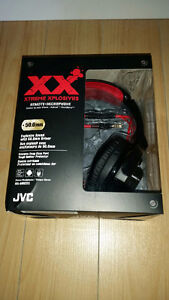 JVC Xtreme Xplosive Over-Ear Headphone (HA-MR55X) NEW