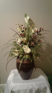 Beautiful Silk Flower Arrangement