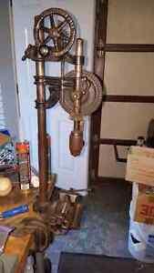 Rare 1900s drill press.