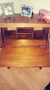 Antique Drop Top Desk