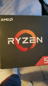 Ryzen 5 2600x used for 2 weeks with recipt