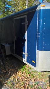 Jensen 6'x12'+2' curved v nose enclosed trailer