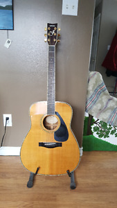 Yamaha sprucetop acoustic model FG-461S
