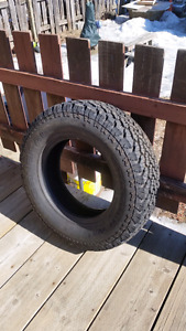General grabber at 255/70R17 studded tire