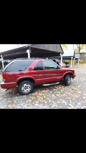 2005 Chevrolet Blazer Side steps Hatchback