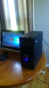 brand new custom built pc gamer console killer performance