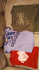 Great condition, girls 5T t-shirts