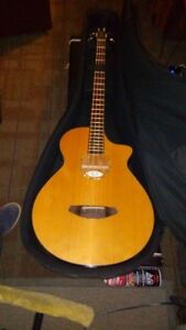 MINT BREEDLOVE ACUOSTIC/ELECTRIC BASS