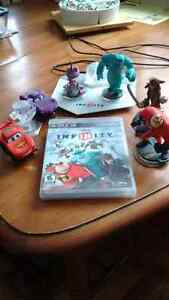 PS3 Infinity game with 6 different characters and 2 world's